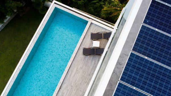 Duurzaam energiesysteem voor uw zwembad, spa of zwemspa